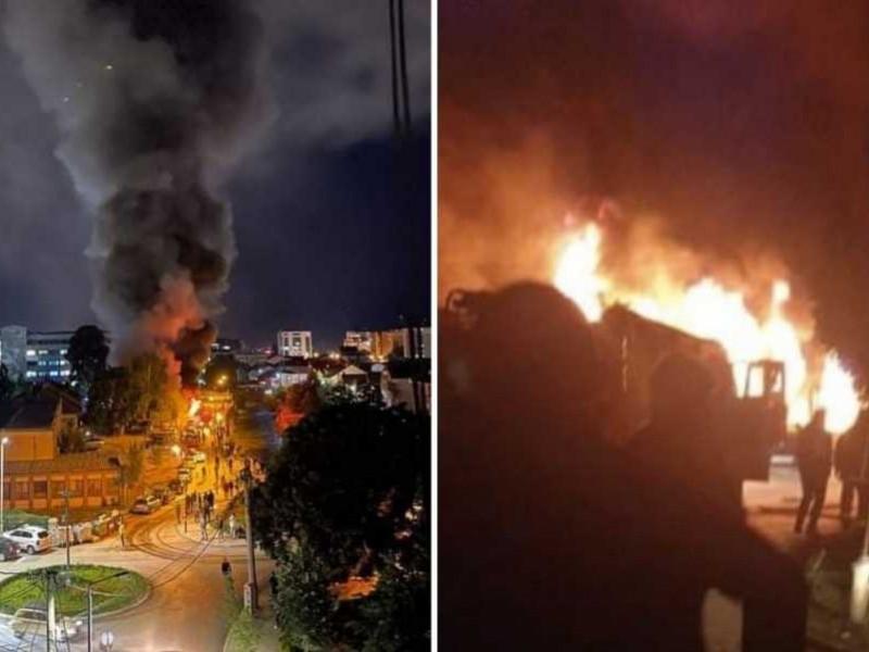 10 fallecidos tras incendio en hospital Covid-19 en Macedonia