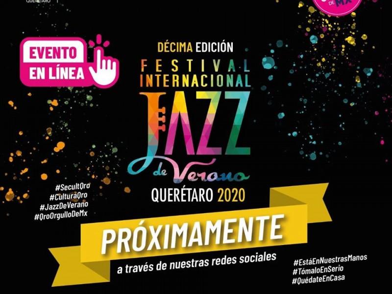 10° Festival Internacional de Jazz será virtual