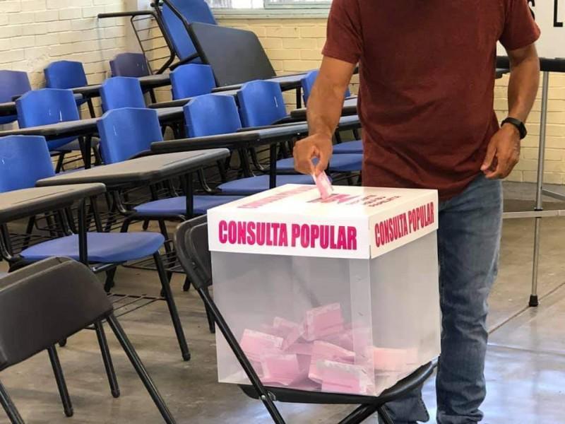 1,056 mesas receptoras instaladas en Querétaro para consulta popular