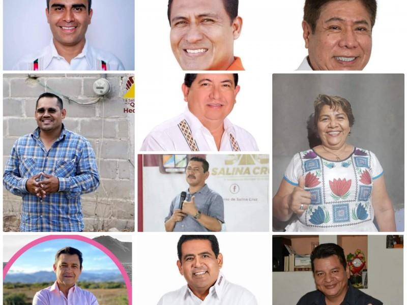 11 ciudadanos aspiran a la presidencia de Salina Cruz