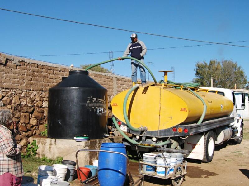 11 millones de litros de agua para atender sequía