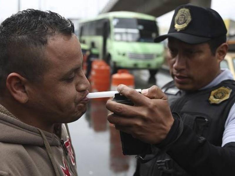 112 personas se van al Torito por alcoholímetro