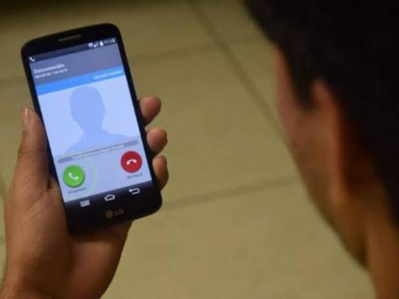 12 denuncias al mes por extorsión telefónica