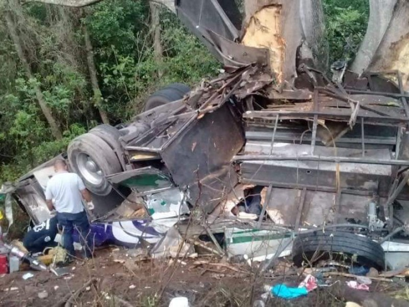12 fallecidos en accidente de carretera federal 200