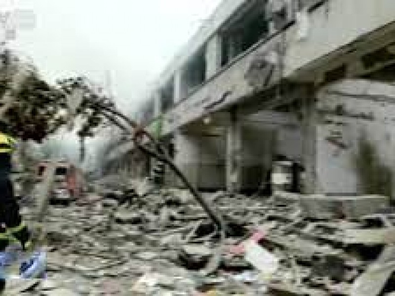 12  muertos explosión de gas en China