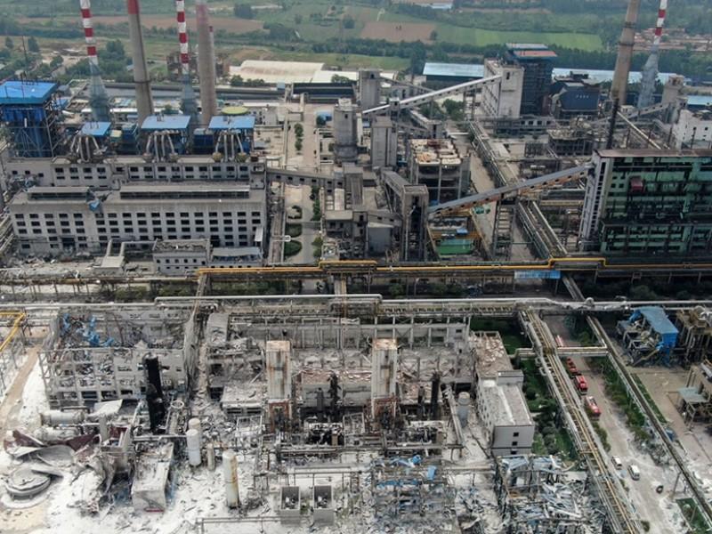 12 muertos tras explosión en China