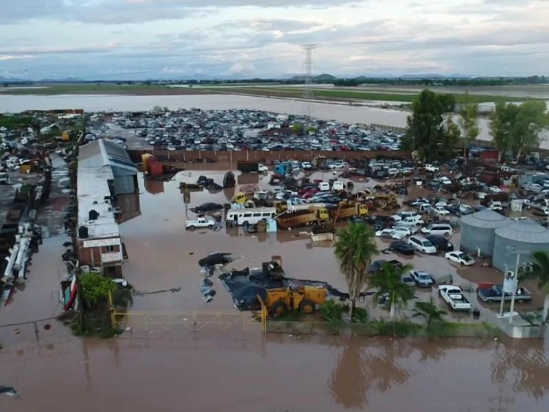 125 mdp costo para resarcir daños en Ahome