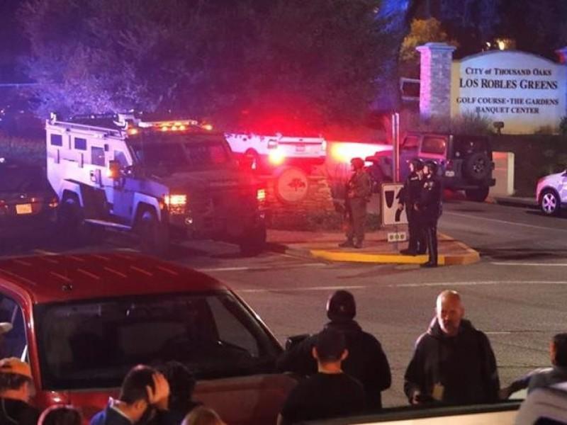 13 muertos por ataque a bar de California