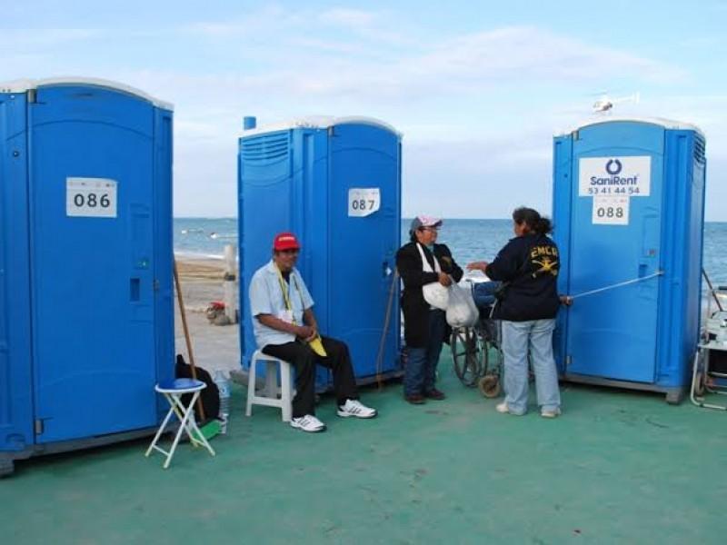 130 baños móviles para personas con discapacidad