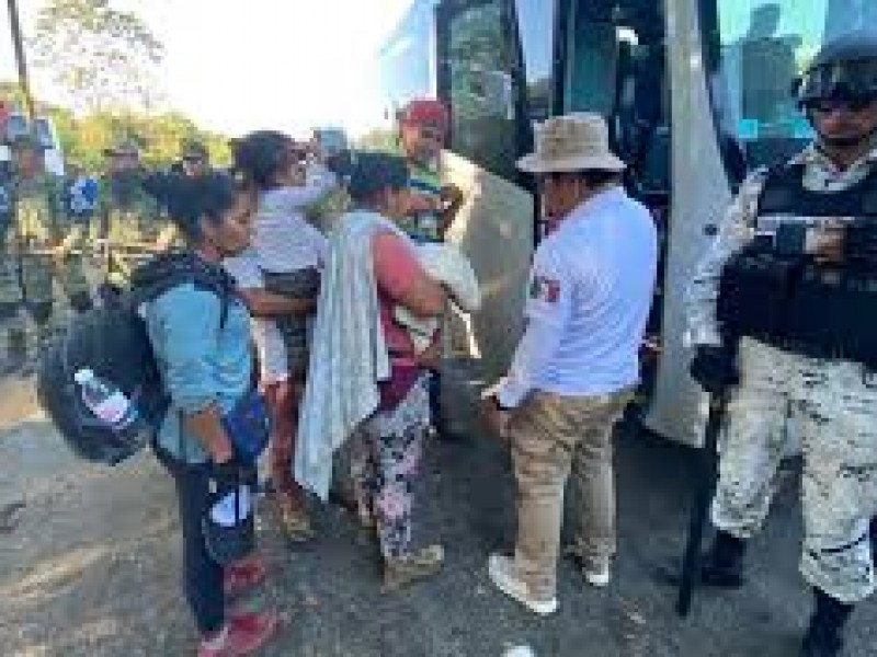 132 migrantes fueron deportados desde Chiapas