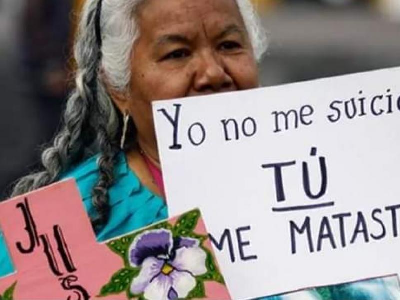 137 muertes violentas de mujeres se registran en Chiapas