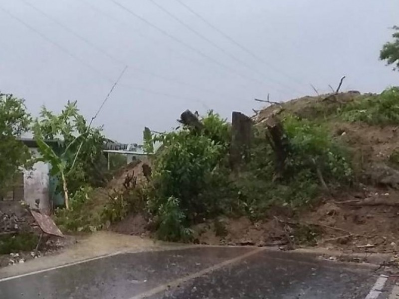 14 municipios poblanos se vieron afectados por las fuertes lluvias