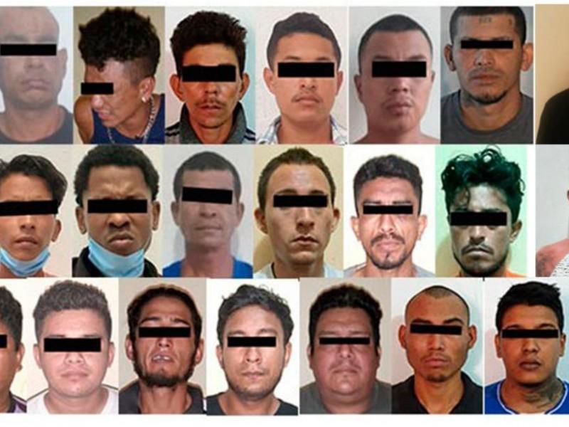 142 detenidos suma Operativo Antipandillas en franja fronteriza de Chiapas