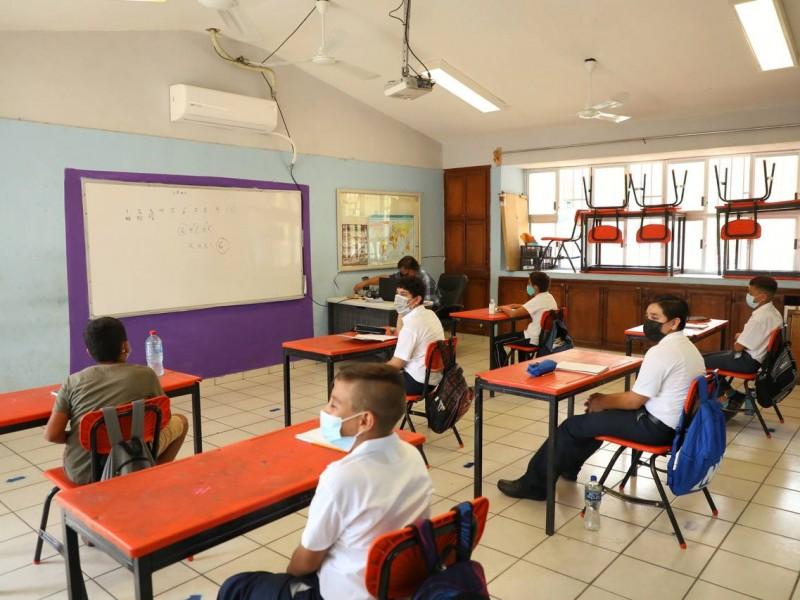 144 escuelas pudieron tener clases presenciales: SEP BCS