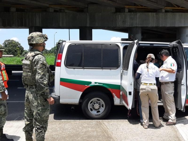144 mil migrantes han cruzado la frontera sur