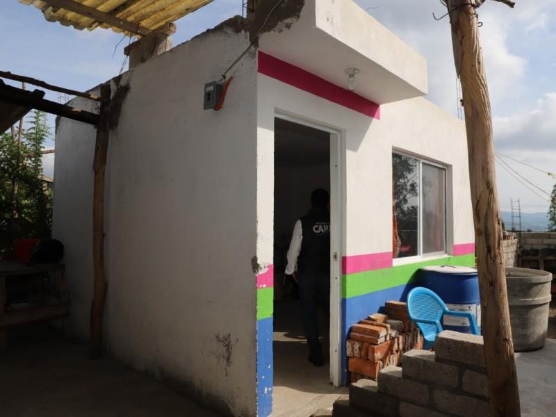 145 familias beneficiadas con el programa de Mejoramiento de Vivienda
