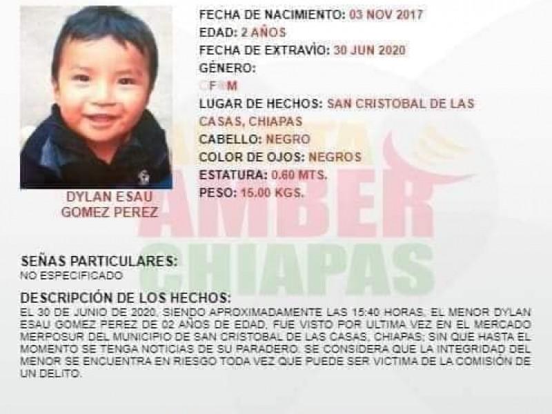 15 días y Dylan no aparece. Menor desaparecido en Chiapas