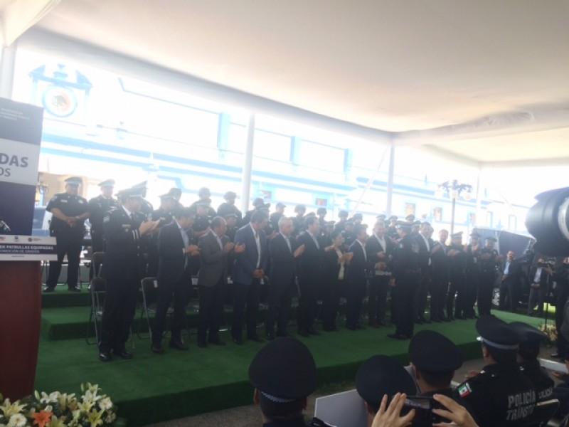 15 patrullas nuevas para San Andrés Cholula