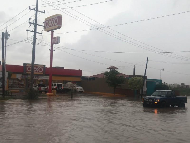 📹 156 mm de lluvia en Los Mochis