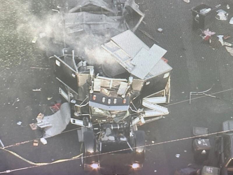 17 heridos por explosión de pirotecnia ilegal en Los Ángeles