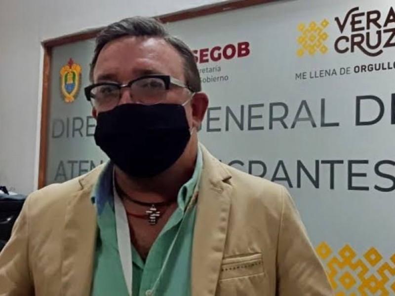 17 migrantes detenidos en Veracruz dieron positivo a Covid-19
