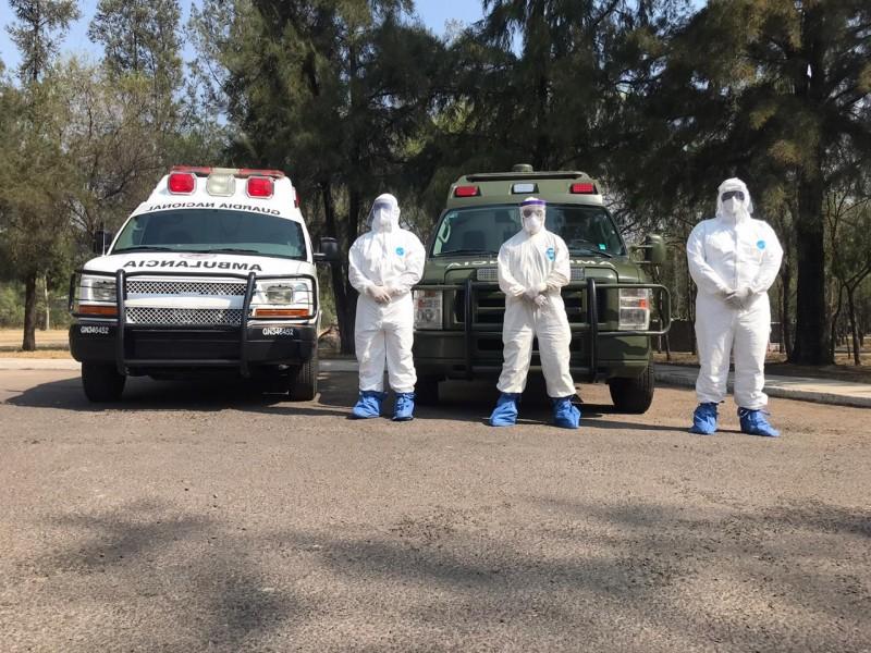 17 zona militar tiene lista unidad hospitalaria para atención Covid-19