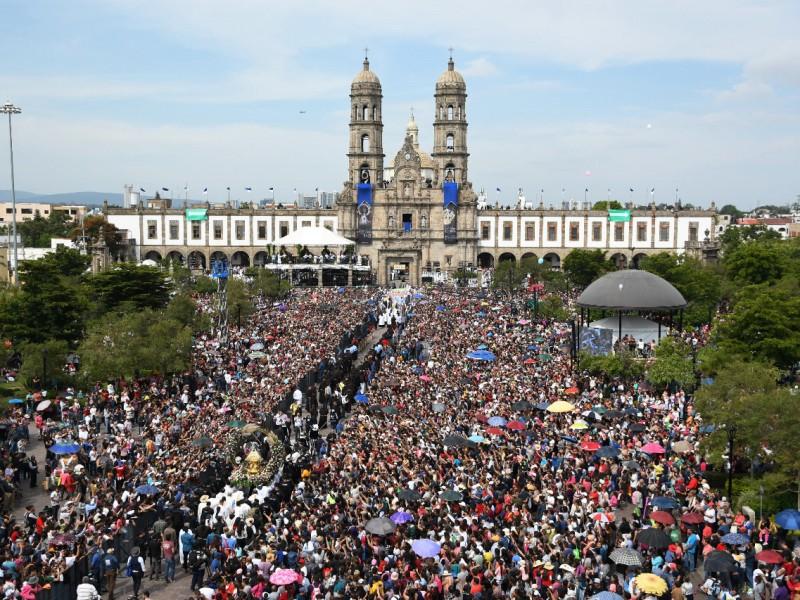 1.8 millones de feligreses en Romería 2019