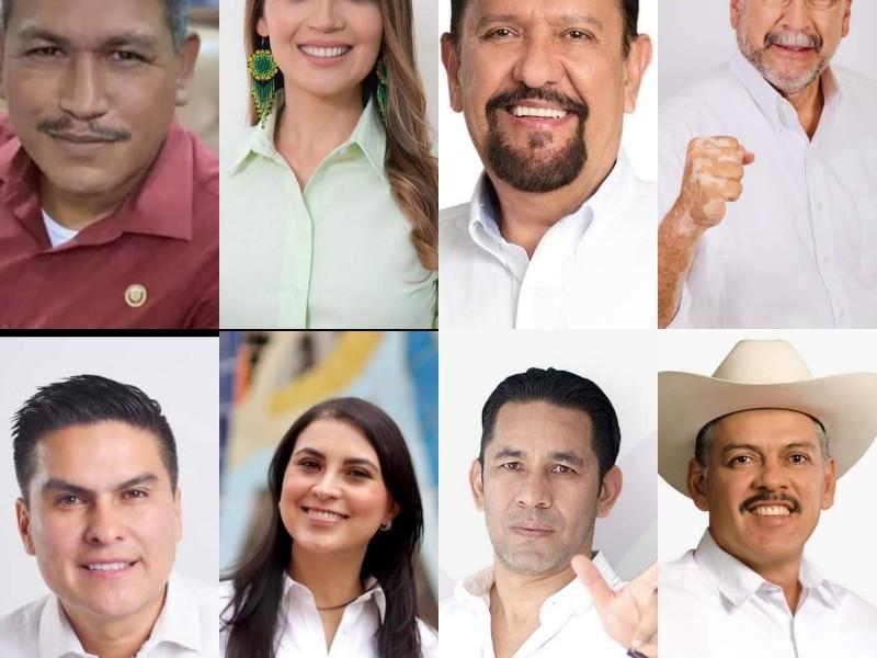 18 nayaritas buscan una diputación federal ¿Quiénes son?