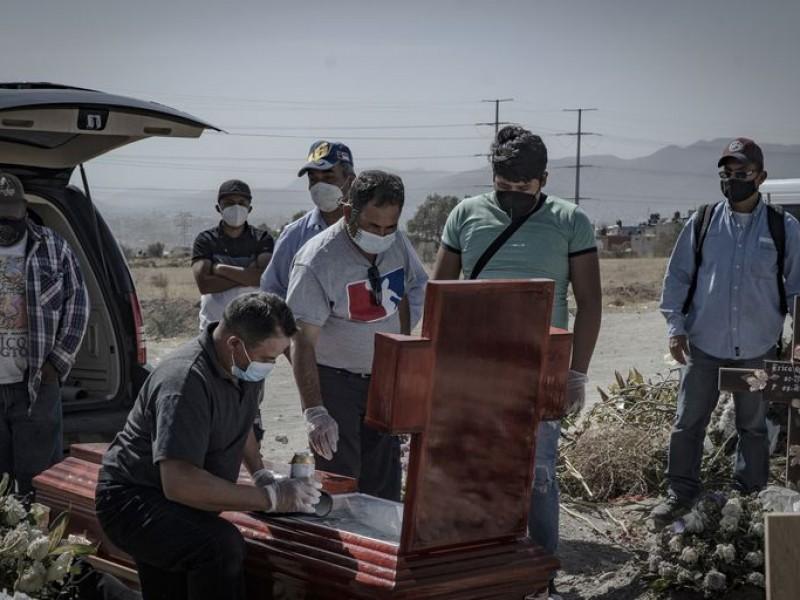 183 mil 692 personas han muerto por Covid-19 en México