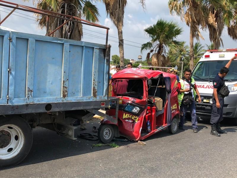 19 accidentes viales se registraron durante el mes de mayo