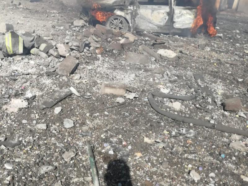 19 muertos por explosiones de pirotecnia en Tultepec
