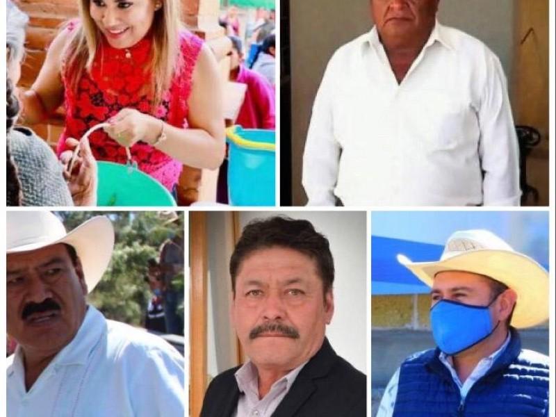 19 presidentes municipales positivos a covid-19 en Puebla