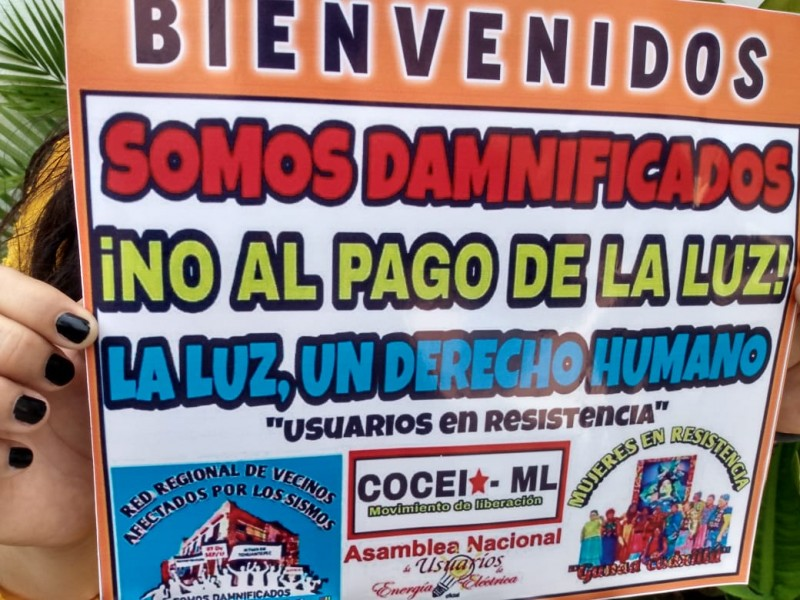 10 mil usuarios no pagan la energía eléctrica en Juchitán