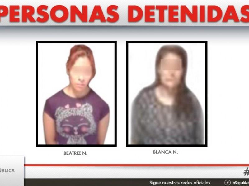 2 detenidas por robo a negocio: SSP