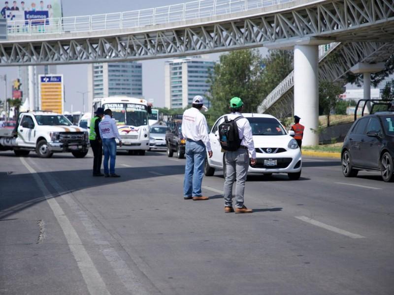 2 mil 510 vehículos fueron detenidos durante el Programa #HoyNoCircula