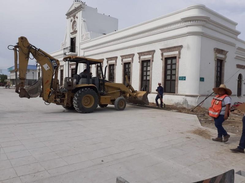 20% de avance en remodelación del centro histórico