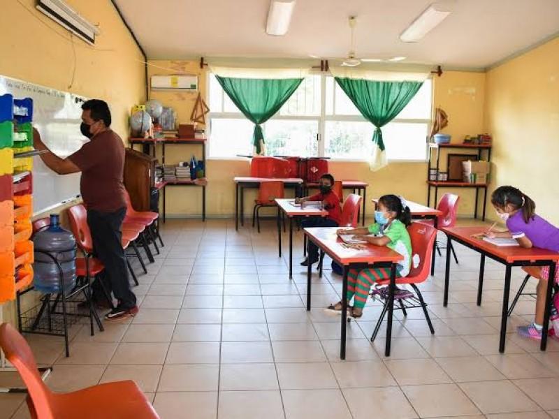 20 mil escuelas de Veracruz retomarán clases presenciales