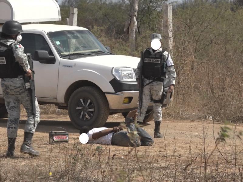 20 presuntos asaltantes fueron detenidos en Tehuantepec