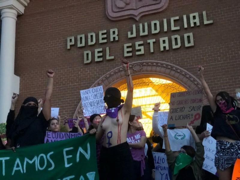 2020 año que también marcó la lucha feminista en Sonora