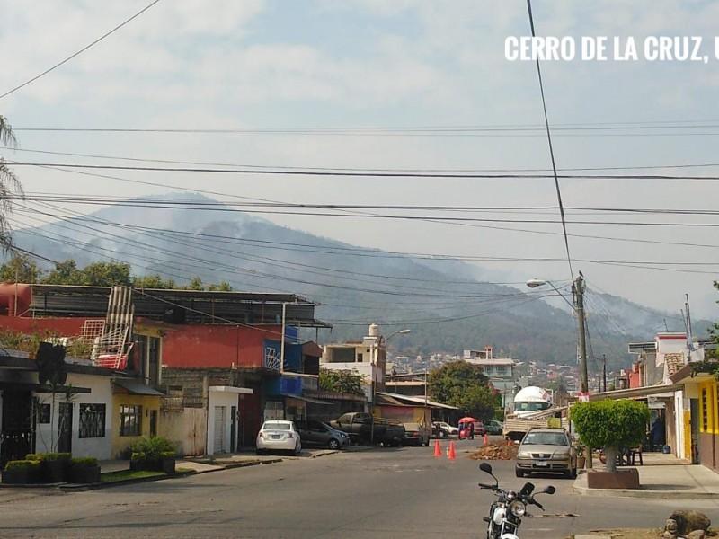207 hectáreas afectadas por incendio en Cerro de la Cruz