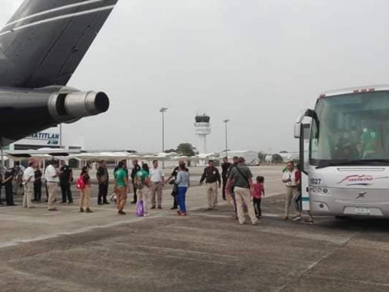 217 Hondureños fueron deportados desde México