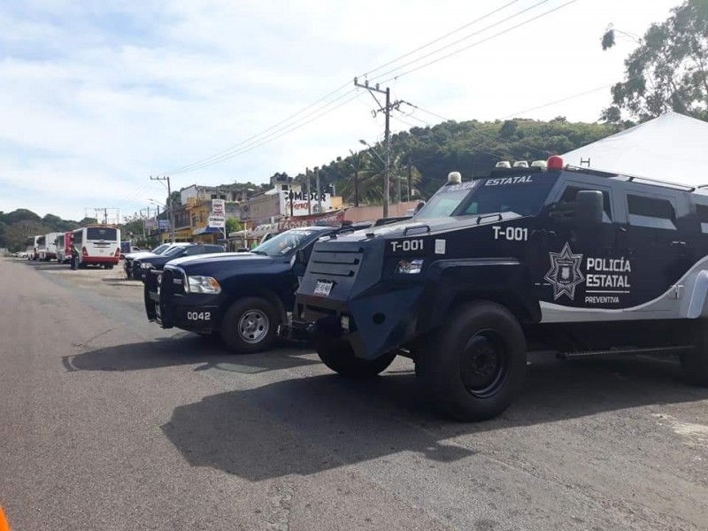 22 personas fueron detenidas el fin de semana