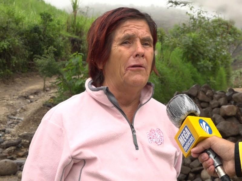23 años padeciendo inundaciones. La historia de María Alicia Lomelí