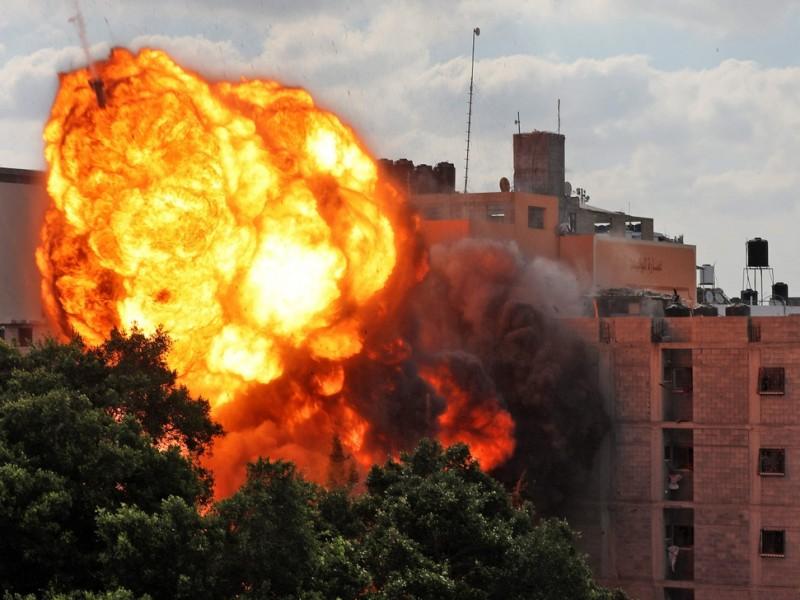 232 personas han muerto en la Franja de Gaza
