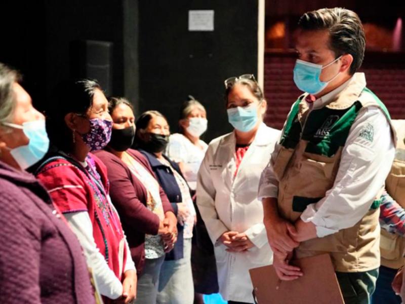 238 mil vacunas aplicadas durante 12 días en Chiapas