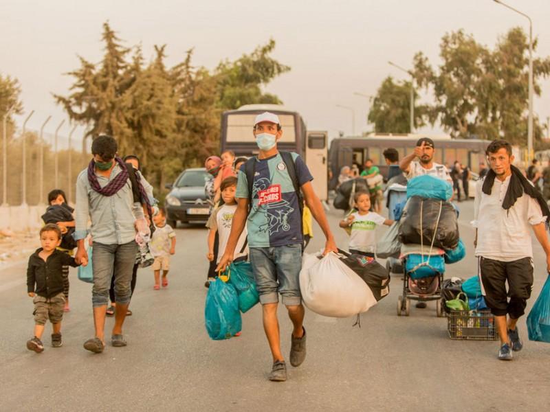 243 migrantes dan positivo a Covid-19 en campo de refugiados