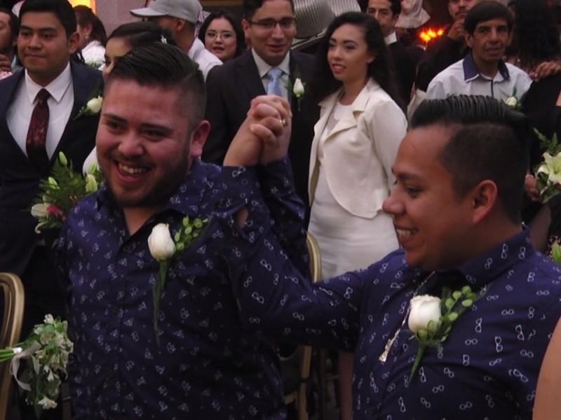 25 Parejas homosexuales han contraído matrimonio sin necesidad de amparo