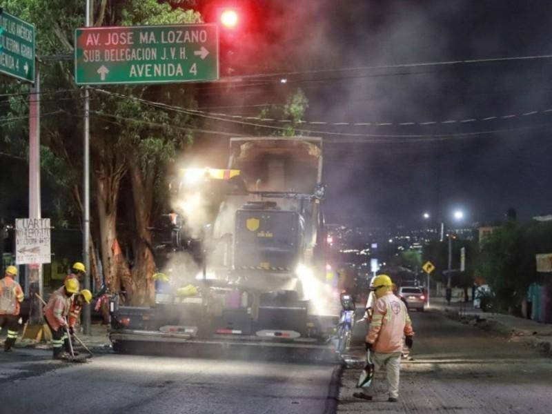 26 obras de mantenimiento vial en avenidas principales de Querétaro