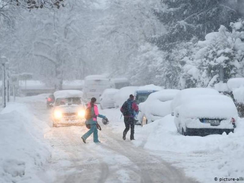 28 heridos tras tormenta invernal de Alemania
