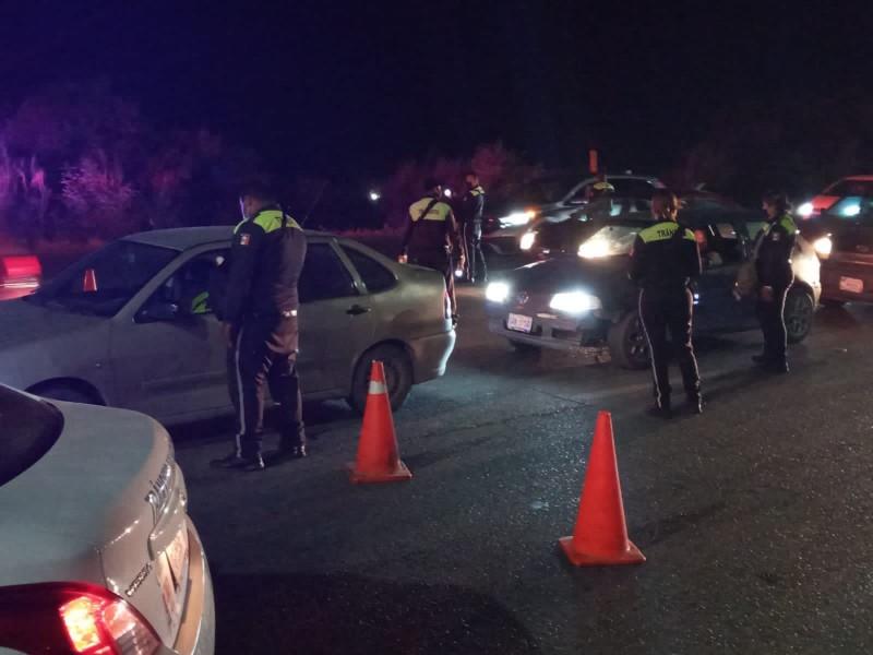 29 infracciones y 7 detenidos por alcoholímetro